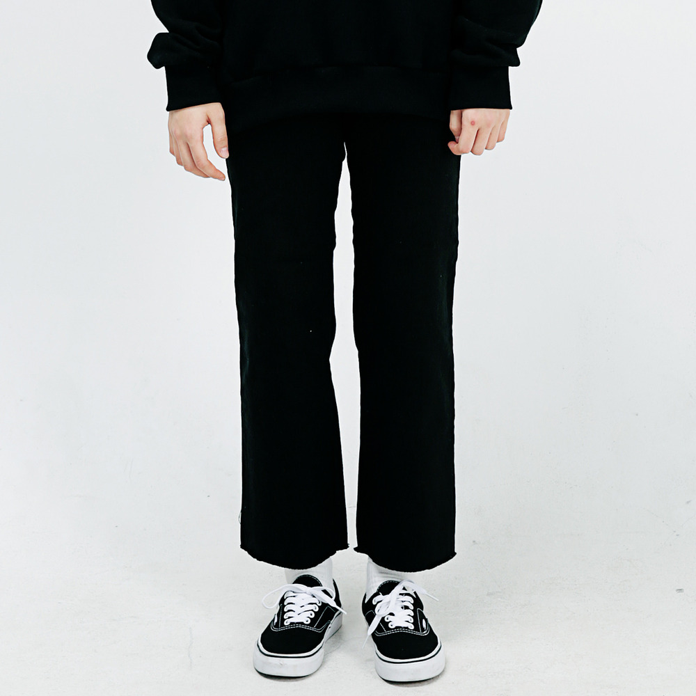 STITCH LINE CHINO PANTS ALP183002-BK