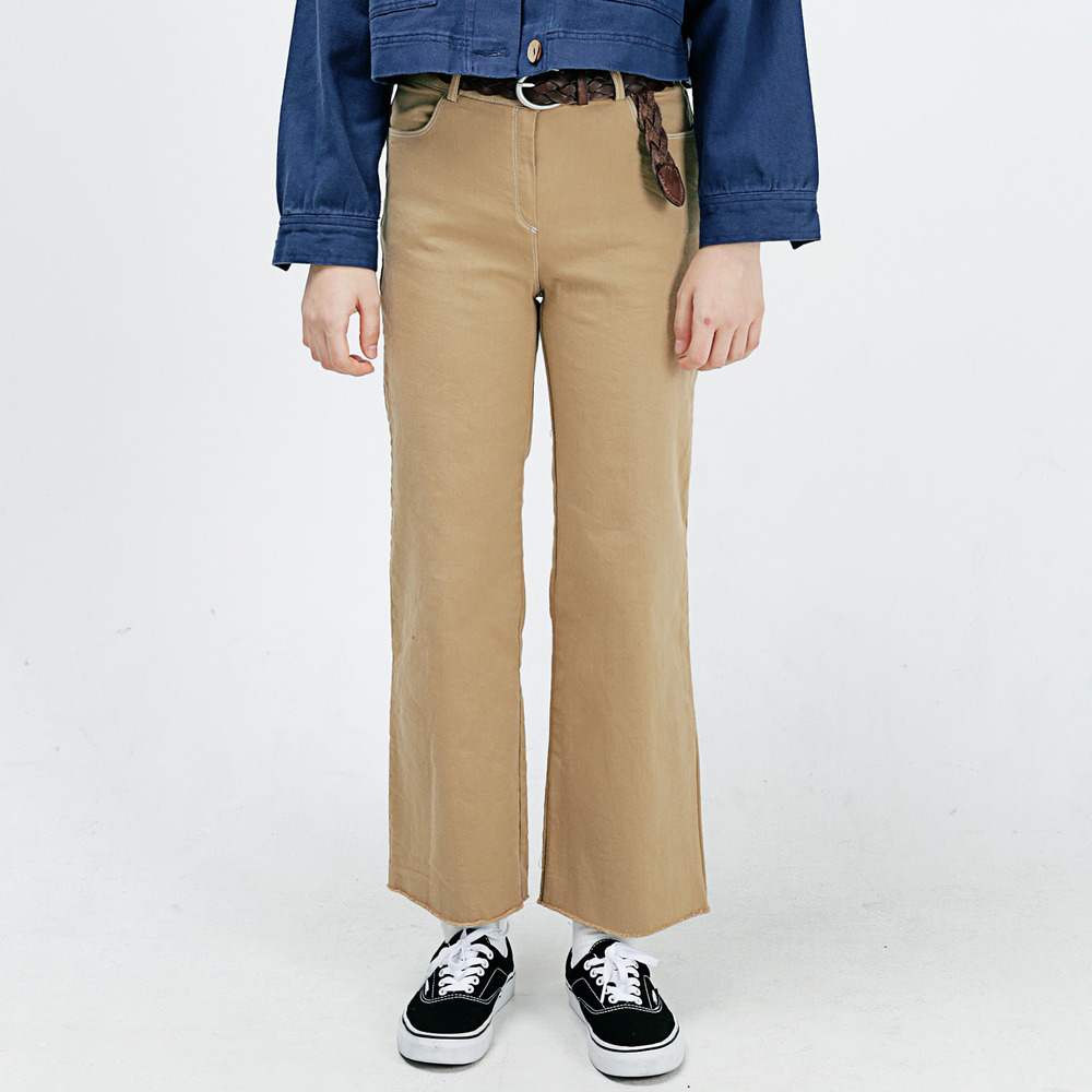 STITCH LINE CHINO PANTS ALP183002-BG