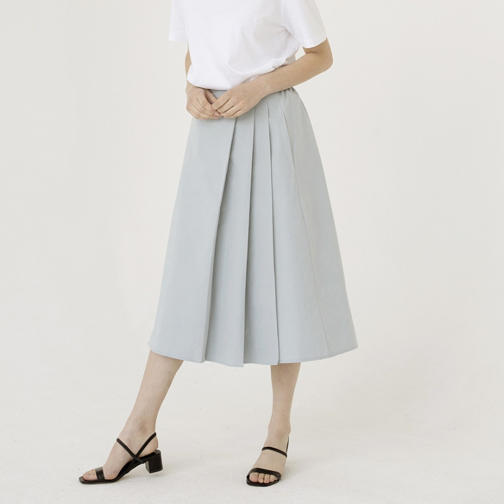 pleats wrap skirt ASK201001-SK